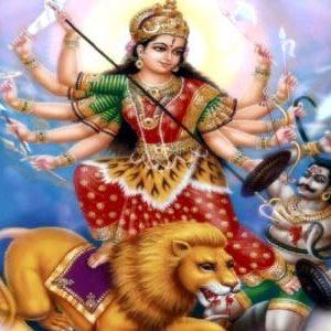 माँ दुर्गा जी की आरती हिंदी और इंग्लिश मे {2020}