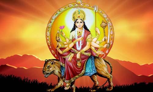 देवी चंद्रघंटा जी की आरती हिंदी और इंग्लिश मे {2020}