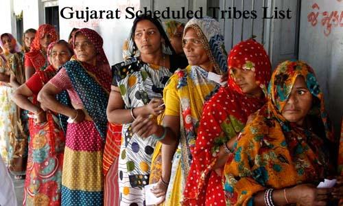 गुजरात की अनुसूचित जनजातियां