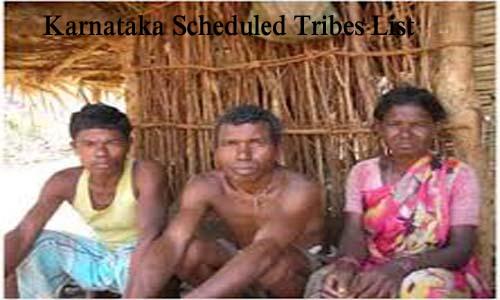 कर्नाटक की अनुसूचित जनजातियां
