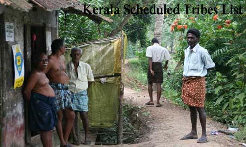 केरला की अनुसूचित जनजातियां