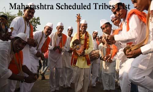 महाराष्ट्र की अनुसूचित जनजातियां