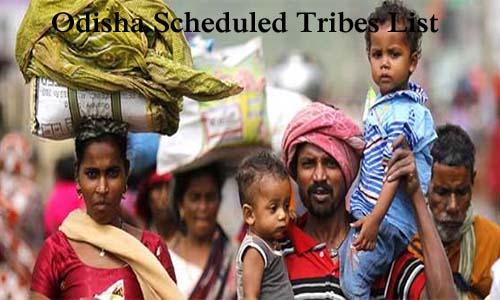 ओडिशा की अनुसूचित जनजातियां