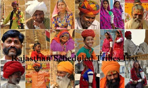 राजस्थान की अनुसूचित जनजातियां