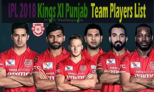 KXIP Team: किंग्स इलेवन पंजाब खिलाडियों की पूरी जानकारी