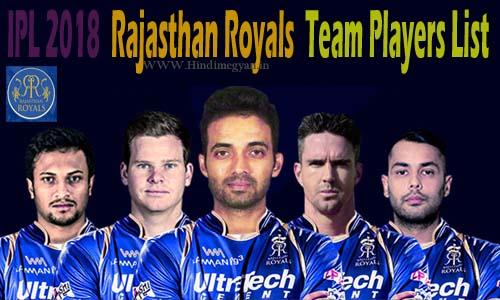 RR Team: राजस्थान रॉयल्स खिलाड़ियों की पूरी जानकारी