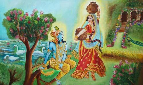 आखिर क्यों पिया था श्री कृष्ण ने राधा के पैरों का चरणामृत?